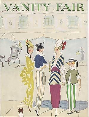Vanity Fair Magazine, June, 1914 - Cover Only: Ethel M. Plummer