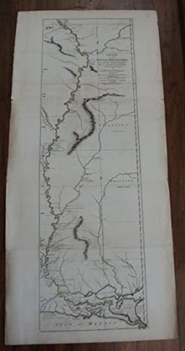 Course of the River Mississippi from the Balise to Fort Chatres taken on an Expedition to the ...