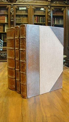 Le Morte d'Arthur. The Original Edition of William Caxton. Three volumes complete with ...