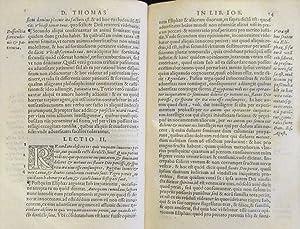 D. Thomae Aquinatis, doctoris angelici, praedicatorii instituti, In S. prophet[a]e Iob librorum ...