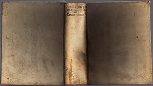 De Rebus Christianorum ante Constantinum Magnum commentarii.: Johann Lorenz von