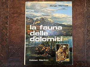 La fauna delle Dolomiti: Giorgio Marcuzzi