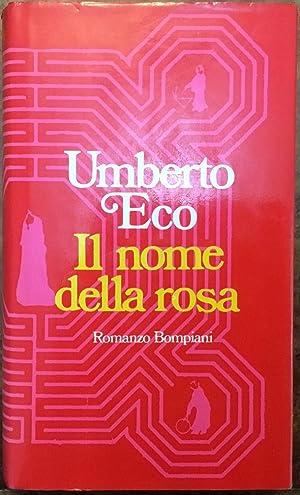 Il nome della rosa. Prima edizione: Umberto Eco