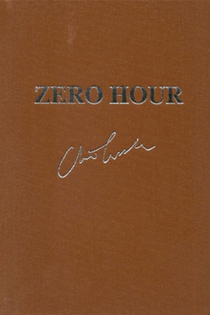 Cussler, Clive & Brown, Graham | Zero Hour | Double-Signed Lettered Ltd Edition