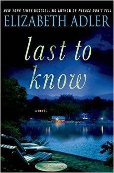 Adler, Elizabeth | Last to Know |: Adler, Elizabeth