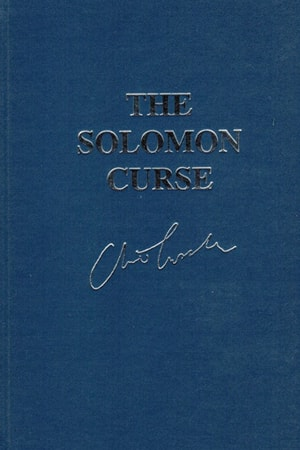Cussler, Clive & Blake, Russell | Solomon Curse, The | Double-Signed Lettered Ltd Edition