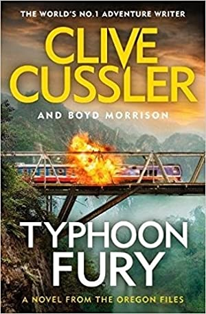 Cussler, Clive & Morrison, Boyd | Typhoon Fury | Double-Signed UK 1st Edition