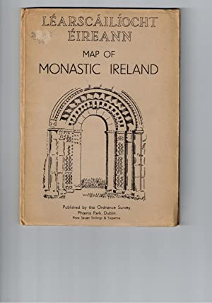 Map of Monastic Ireland. Learscailiocht Eireann.