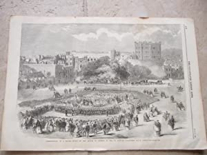 Presentation of a Silver Bugle by the