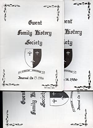 Gwent Family History Society. 1986 3 volumes.