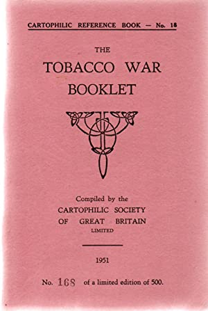Cartophilic Reference Book No.18.The Cigarette Card Issues of:- The Tobacco War Booklet.