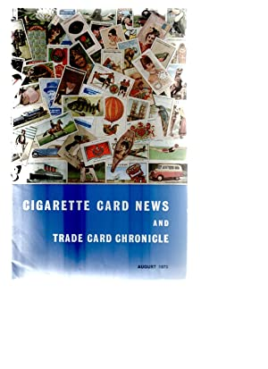 Cigarette Card News and Trade Card Chronicle. 1972-1986.