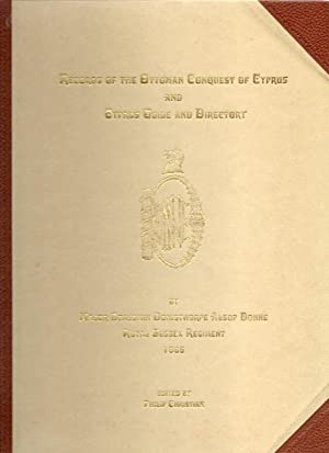 Records of the Ottoman Conquest of Cyprus and Cyprus Guide and Directory