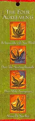 The Four Agreements Bookmark (Bookmark): Ruiz, Don Miguel
