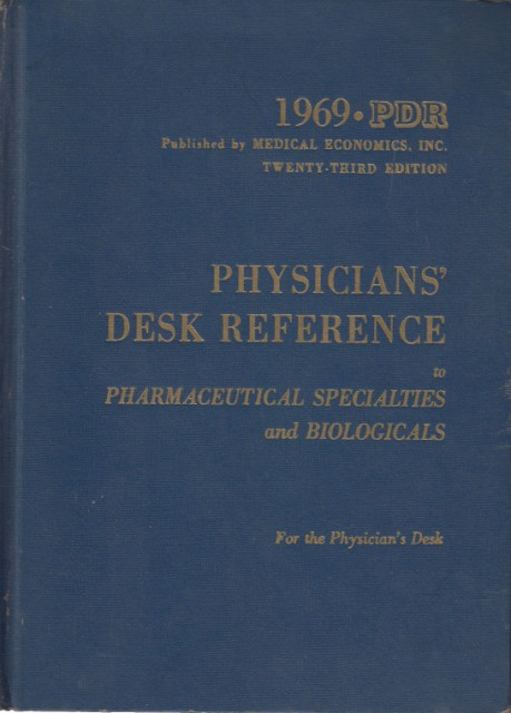 Physicians Desk Reference Pharmaceutical Specialties Biologicals Abebooks