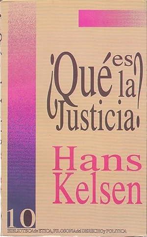 QUÉ ES LA JUSTICIA?: KELSEN, HANS