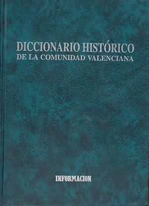 DICCIONARIO HISTÓRICO DE LA COMUNIDAD VALENCIANA. TOMO I: CERDÁ, MANUEL; NARBONA VIZCAÍNO, ...