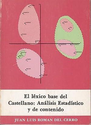 EL LÉXICO BASE DEL CASTELLANO: ANÁLISIS ESTADÍSTICO: ROMÁN DEL CERRO,