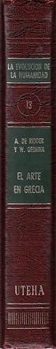 EL ARTE EN GRECIA: DE RIDDER, A.; DEONNA, W.
