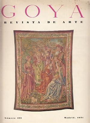 GOYA: REVISTA DE ARTE Nº 103 (Los: YARZA LUACES, JOSQUÍN;