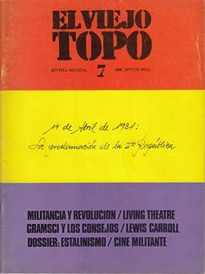 EL VIEJO TOPO Nº 7 (Filosofia y: SUBIRATS, EDUARDO; fERNÁNDEZ