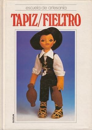 ESCUELA DE ARTESANÍA: TAPIZ/FIELTRO: ALPUENTE, PALMIRA; GAETA, ALICIA; MARTÍNEZ, ...