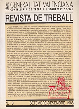 REVISTA DE TREBALL Nº 8 (La negociación: LÓPEZ GANDÍA, JUAN;