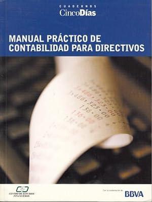 MANUAL PRÁCTICO DE CONTABILIDAD PARA DIRECTIVOS: ÁLVAREZ CARRIAZO, JOSÉ