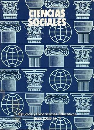 CIENCIAS SOCIALES (documento de apoyo para el: CRESPO ALONSO, Mª