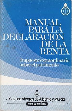 MANUAL PARA LA DECLARACIÓN DE LA RENTA.: MARTÍN DE SANTA
