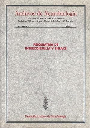 ARCHIVOS DE NEUROBIOLOGÍA. 1997. SUPLEMENTO 2 (Medida de la gravedad de la enfermedad psiquiátrica:...