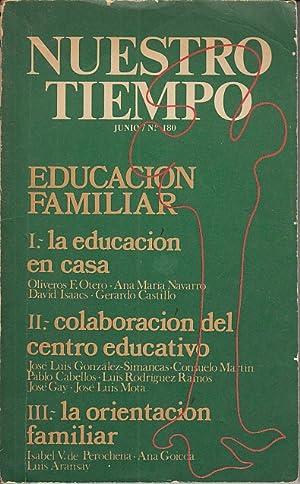 NUESTRO TIEMPO Nº 180 (Educación familiar permanente;: OTERO, OLIVEROS F.;