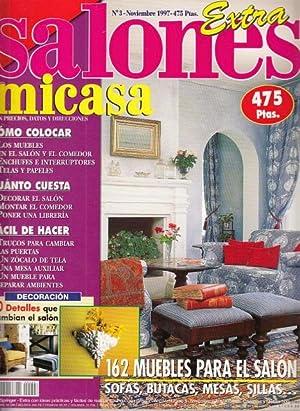 MICASA. EXTRA SALONES Nº 3: MORI, CUCA; RIDRUEJO,