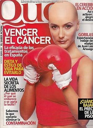 QUO Nº 85 (Vencer el cáncer: la: DE FRUTOS, OLGA;