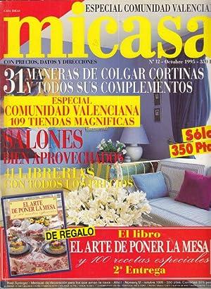 MICASA. Nº12. ESPECIAL COMUNIDAD VALENCIANA. 31 MANERAS: NEVES, ANDRE (