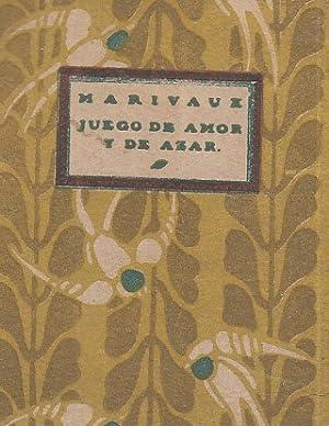JUEGO DE AMOR Y DE AZAR .EL: MARIVAUX