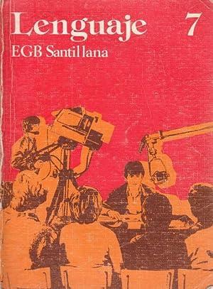 LENGUAJE 7 EGB: SANTILLANA