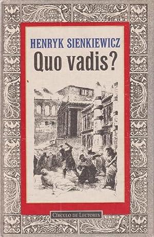 QUO VADIS?: SIENKIEWICZ, HENRYK