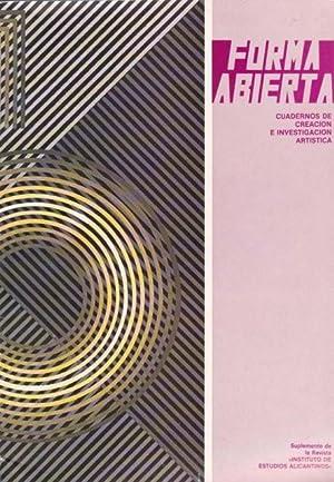 Forma Abierta (Nueva Poesía Joven): ALONSO RUIZ, FRANCISCO;