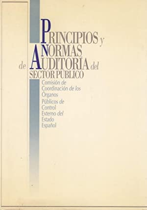 PRINCIPIOS Y NORMAS DE AUDITORIA DEL SECTOR: Comision de coordinacion