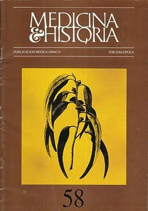 MEDICINA E HISTORIA. REVISTA DE ESTUDIOS HISTORICOS: URIACH, JUAN (DIRECTOR)