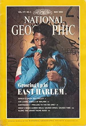 THE NATIONAL GEOGRAPHIC MAGAZINE, MAY 1990 (Growing: NATIONAL GEOGRAPHIC SOCIETY
