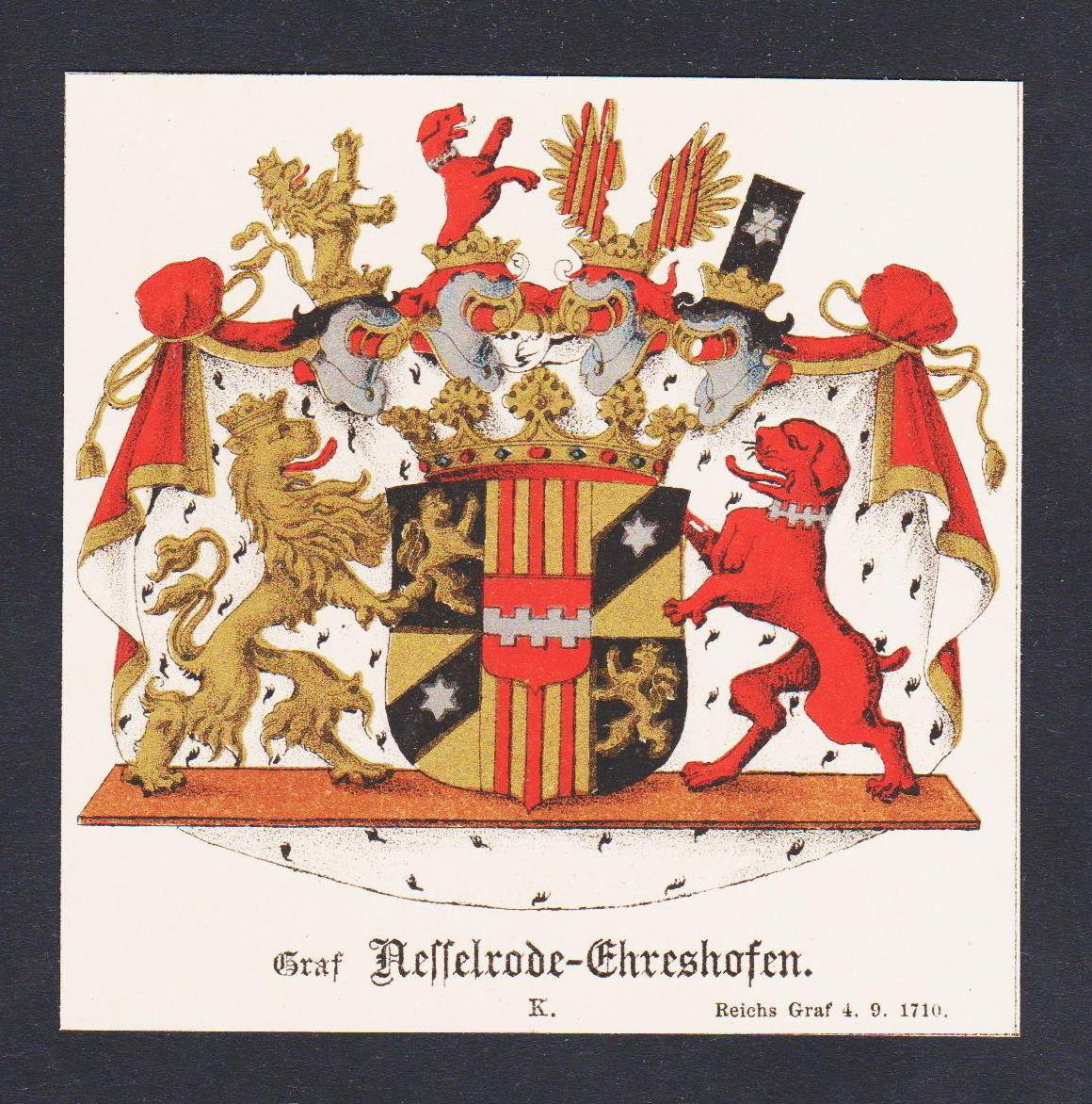 Nesselrode Ehreshofen Wappen Heraldik coat of arms