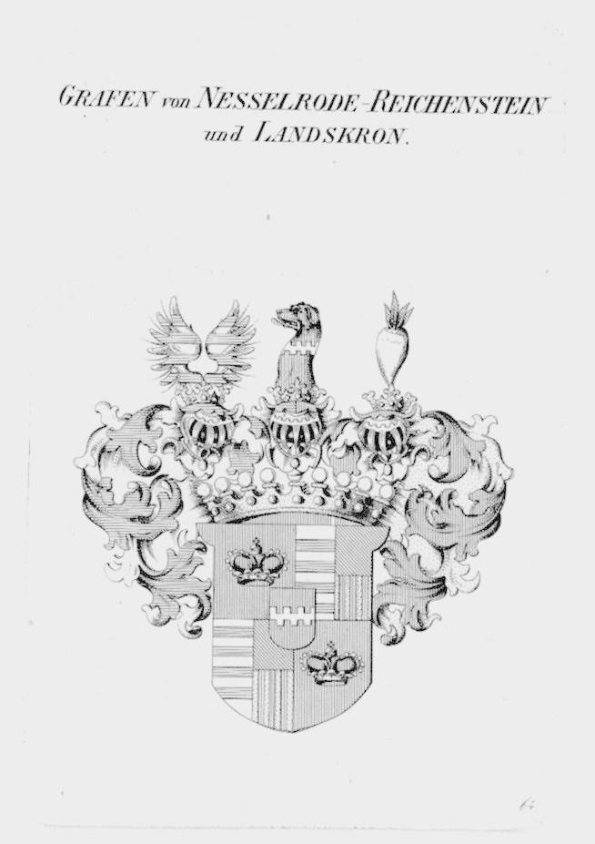 Nesselrode Reichenstein Landskron Wappen coat of arms
