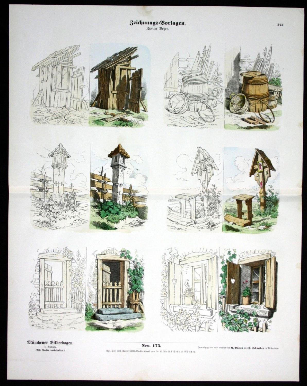 Zeichnungsvorlagen Vorlagen Zeichnen Zvab