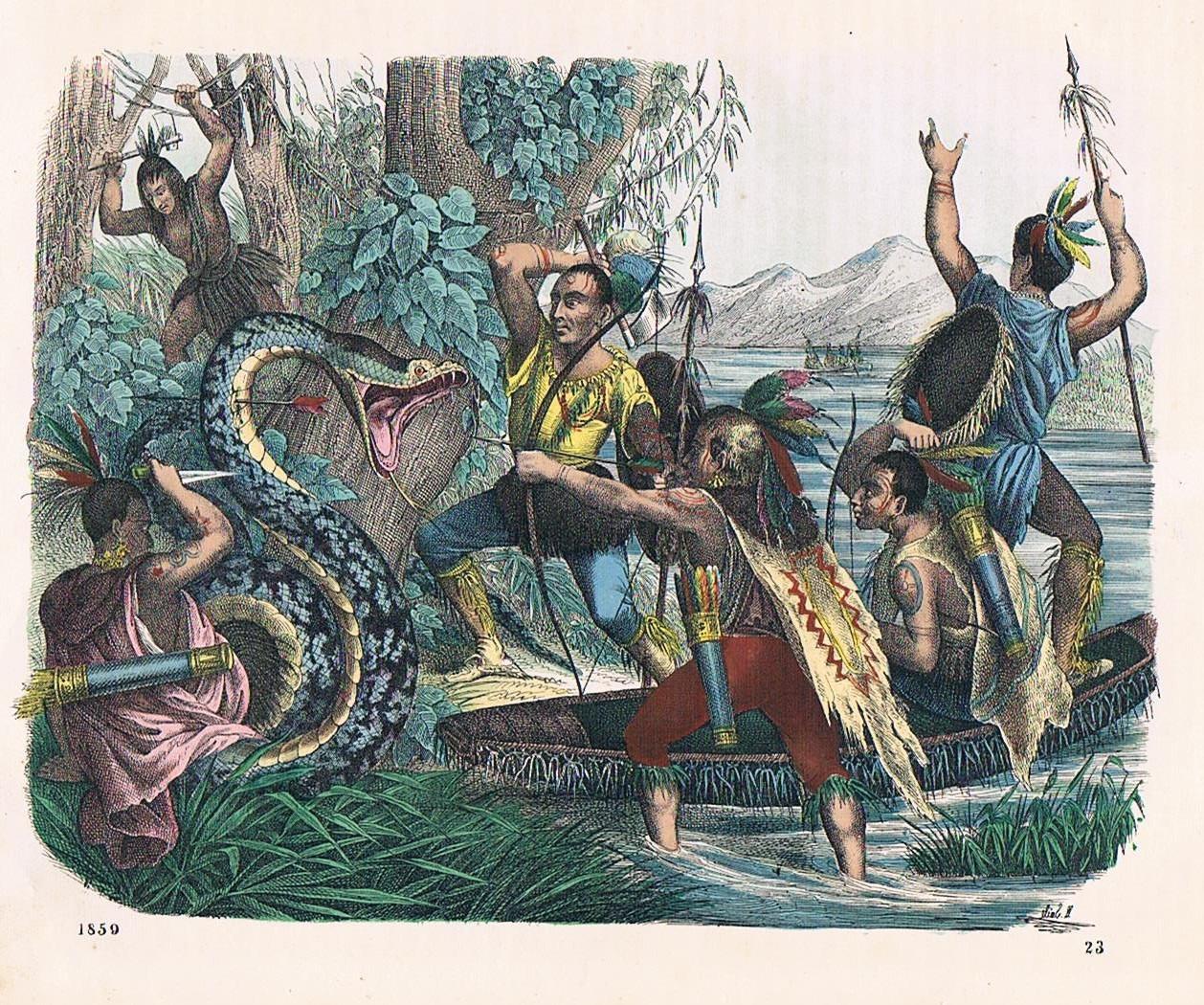 Amerika Indianer