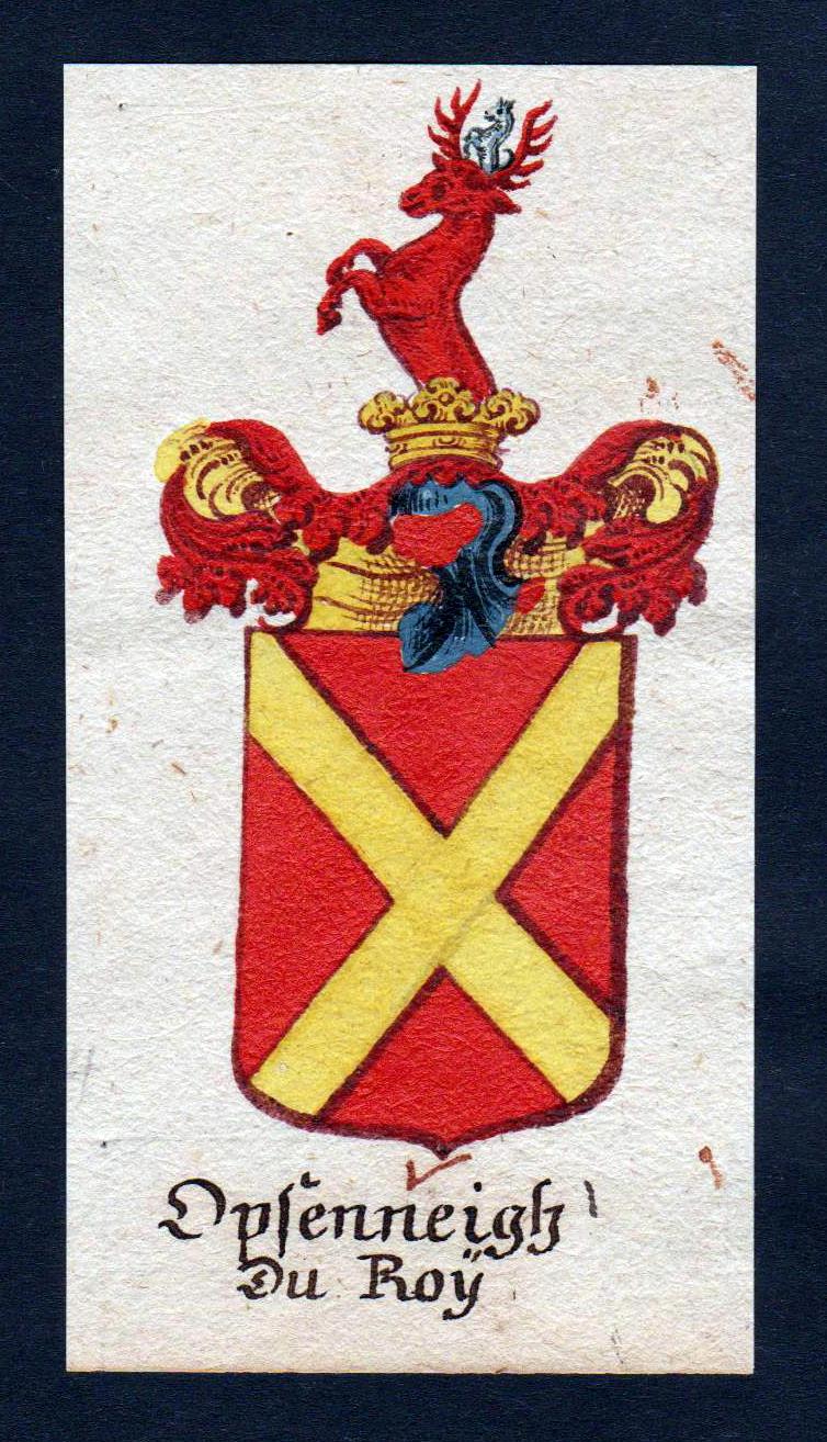 Opfenneitz du Roy Böhmen Wappen Adel coat