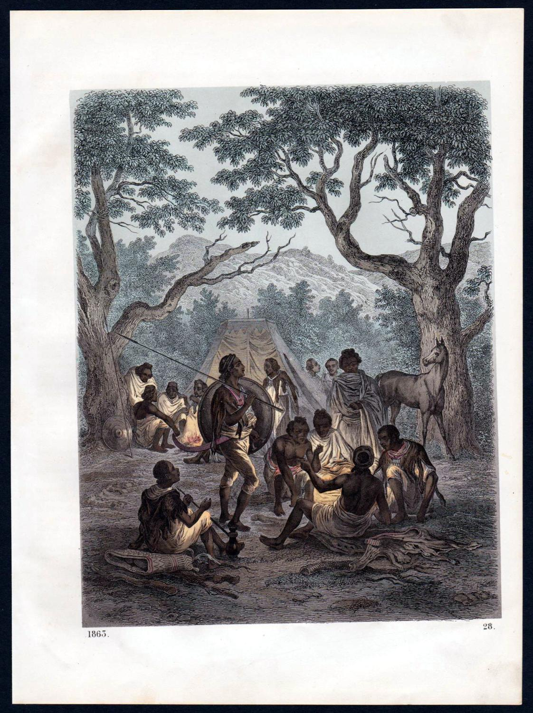 Abessinien Ethiopian Empire Tracht Trachten