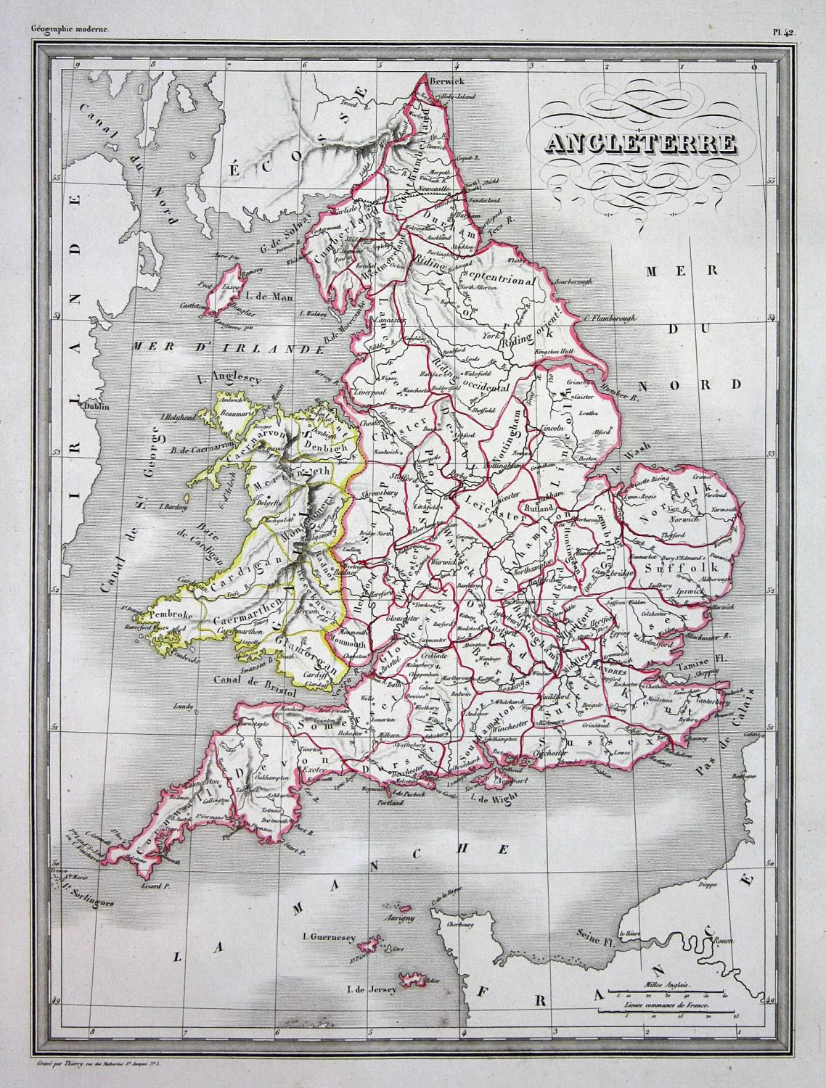 Carte Angleterre Europe.Angleterre