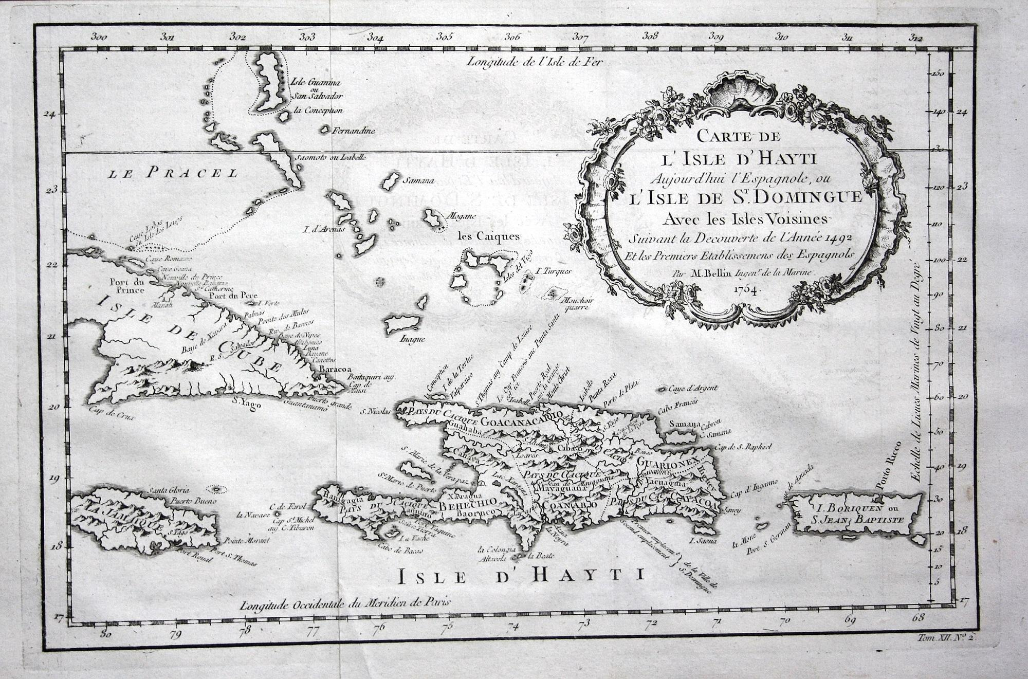 Haiti Karte.Carte De L Isle D Hayti Aujourd Hui